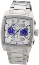 Just Cavalli Pulp Chronograph Silver-Tone Dial