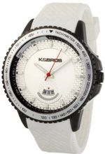 K&BROS 2760509 Steel Overland Black Ion-Plated White Rubber