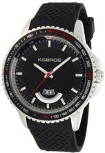 K&BROS 2760510 Steel Overland Stainless Steel Black Rubber