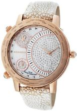 K&BROS 9146-4 On The Road 3 Movements Rose-Gold Plated