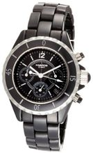 K&BROS 9150-1 C-901 Full Ceramic Chronograph Black