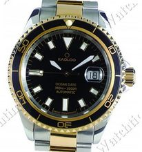 Kadloo Gents Collection Ocean Date Gold