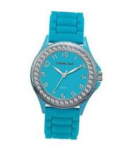 TRENDY FASHION Blue Silicon Strap , Blue Case/Blue Dial BY FASHION DESTINATION