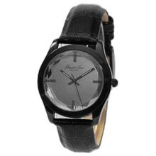 Kenneth Cole Beveled Crystal Gunmetal Quartz KCW2000