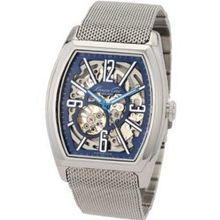 Kenneth Cole Gents Smart Automatic Blue Dial Mesh Bracelet Dress KC3985