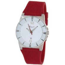 Kenneth Cole KC2787 Red Silicone Quartz with White Dial
