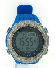 Diamond Blue Digital Shock Style KM King Master