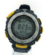 Diamond Blue Yellow Digital Shock Style Tide Graph King Master