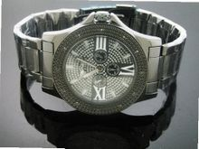 King Master 12 Diamond with Black Case Black Face