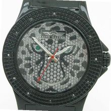 King Master 12 Diamond with Black Case Tiger Face
