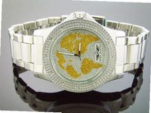 King Master 50mm 12 Diamonds Silver Face