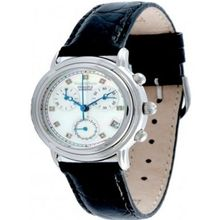 Krug Baumen 010182dl-mop Ladies Principle Diamond Mop Dial