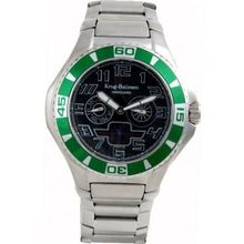 Krug Baumen 140503KM Vanguard Black Green Steel