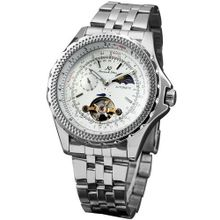 KS 24 Hours Tourbillion Automatic Mechanical Moon Phase Sport KS071