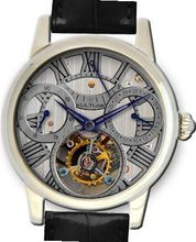 KULTUhR Automatic Self Winding Tourbillon with Anthracite Hand-Skeletonized Dial Limited Edition