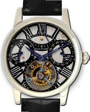 KULTUhR Automatic Self Winding Tourbillon with Black Hand-Skeletonized Dial Limited Edition