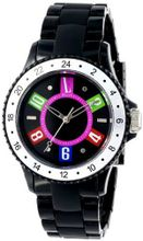 L by ELLE LE50002P02 Black Plastic