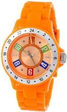 L by ELLE LE50002P06 Orange Plastic