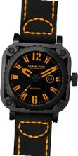 LUM-TEC G7 Black/Orange Skeleton