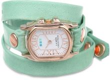 La Mer Collections LMCHATEAU1002 Melon Rose Gold Chateau Wrap
