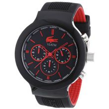 Borneo Chronograph Color: Black / Red
