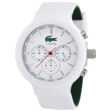 Borneo Chronograph Color: White / Green