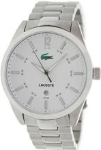 Lacoste 2010579 White and Silver Montreal