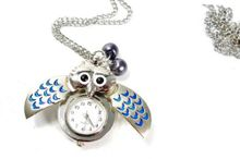 Owl Pocket - Am I blue? [Jewelry]