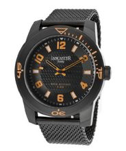 Black Textured Dial Black Ion Plated Stainless Steel
