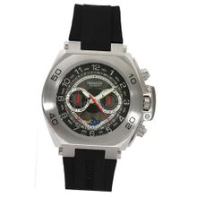 Lancaster Leitmotif Multieyes Business OLA0413NR 45 Stainless Steel Case Black Silicone Mineral Quartz