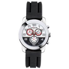 Lancaster Non Plus Ultra OLA0464SLRSNR 46 Stainless Steel Case Black Silicone Mineral Quartz