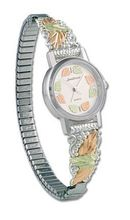Landstroms Gold On Silver Ladies and Band - 09287B-SS-09250-SS