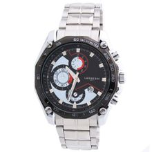 LAOGESHI New Fashion  Military Army Stainless Steel Black White Wrist
