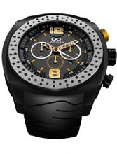 LAPIZTA Accentor 48mm Chronograph Racing - Black and Yellow L23.1603