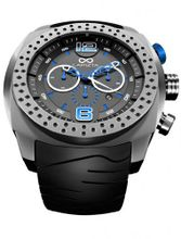 LAPIZTA Accentor 48mm Chronograph Racing - Stainless Steel and Blue L23.1604