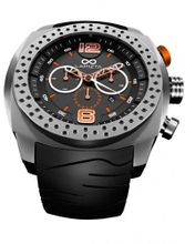 LAPIZTA Accentor 48mm Chronograph Racing - Stainless Steel and Orange L23.1606