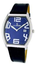 Le Chateau #2671M_BL Arabic Numerals Ultra Slim Leather Band