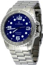 Le Chateau #7083M-BLU Stainless Steel Sports Dinanmica Blue Dial Automatic