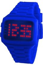 LED LED-BE-STP Unisex Digital Blue Dial And Pu Strap