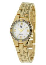Lip 10823852 Analog Quartz with Yellow Steel Bracelet