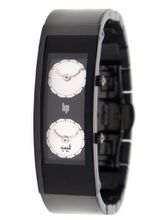 Lip Createur Hicham Lalhou Ladies 1872342 With Black Stainless Steel Strap