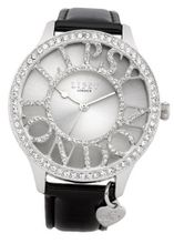 Lipsy LP080 Ladies Silver and Black