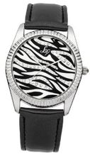 Lipsy LP154 Ladies Black and Silver