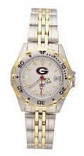 Georgia Bulldogs All Star Stainless Steel Bracelet