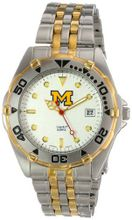 NCAA University of Michigan All Star Stainless Steel Bracelet