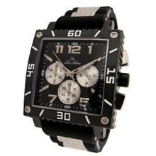 Louis Ardens Bloomington Designer Chronograph Gents Silicone