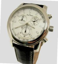 Louis Ardens Florida Chronograph Leather Strap