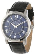 Lucien Piccard 11577-03 Stockhorn Dark Blue Dial Black Leather