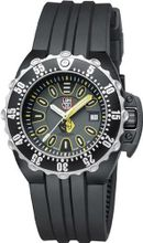 Luminox 1525 Black Polyurethane Automatic with Black Dial