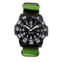 Luminox 3051.NATO.GRN Resin Analog Plastic Bezel